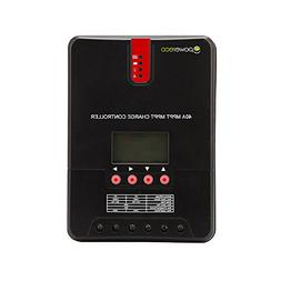 Powereco 40A MPPT Solar Charge Controller Solar Panel for 12