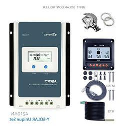 EPEVER MPPT Charge Controller 40A, Solar Panel Charge Contro