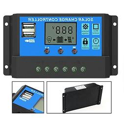 PowMr 40A Solar Charge Controller,Solar Panel Charge Control