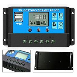 40A Solar Charger Controller, Y-SOLAR Solar Panel Battery In