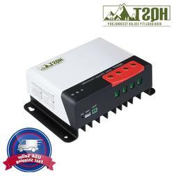 HQST 40Amp MPPT Solar Charge Controller 40A 12V 24V Auto Bat