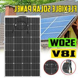 44.5'' 340W 18V Flexible Solar Panel Battery Charger Marine