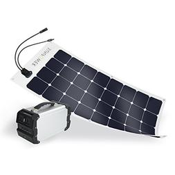 ExpertPower 444Wh Solar Generator Kit with SunPower 100W Fle