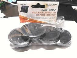 45 watt solar panels plastic frame mounting