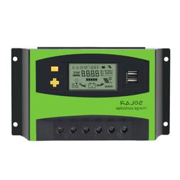 45A 12V 24V Solar Charge Controller Protect Household Applia