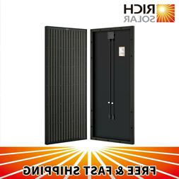 4pcs 100W 12V Monocrystalline Solar Panel 400 Watt Off Grid