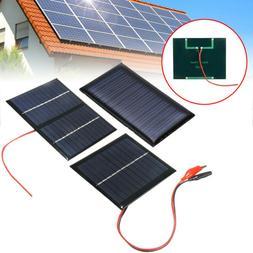 5 9 12v mini solar panel power