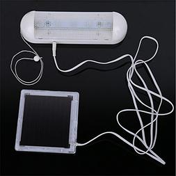 DSstyles 5 LEDs Solar Energy Powered LED Lights Interior Lam