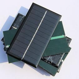 5 Mini 6V 1W Solar Power Panel Solar System DIY For Cell Pho