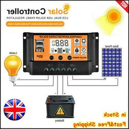 50-100A MPPT Solar Panel Regulator Charge Controller Auto Fo