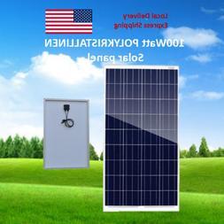 50 Watt 50W Sunpower Flexible Solar Panel Battery Charger of