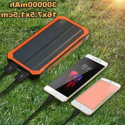 500000mah waterproof solar charger power bank portable