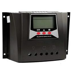Y&H 50A Solar Charge Controller 48V/36V/24V/12V Solar Panel