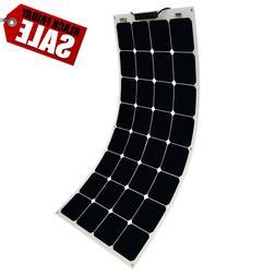 50w 100w 12v flexible mono solar panel
