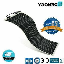 50w 100w 160w 175w 12v flexible monocrystalline