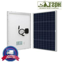 HQST 50W 12V Poly Solar Panel 50 Watt 12 Volt Off Grid Power