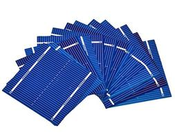AOSHIKE 100pcs micro mini Solar cells panels 0.5V 0.46W Poly