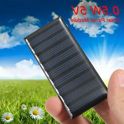 5V 0.5W DIY Mini Solar Panel Module System Battery Charger F