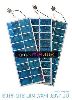BLUE 5v 275 Watt USB Tempered Glass Mini Solar Panel System