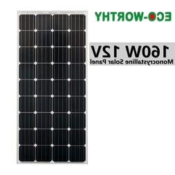 5W 10W 25W 100W 12V Poly Solar Panel  Charge Battery For Cam