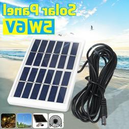 5W 6V Mini Solar Panel Battery Charger Sunpower Energy Class