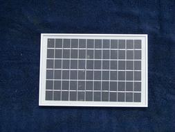 5Watt, 12Volt  Solar Panel; extremely rugged; weather proof;