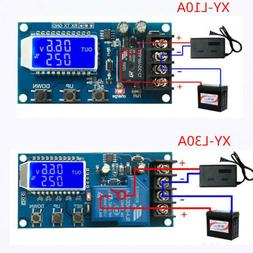 6-60v 10/30A Lead-acid Solar Battery Charge Controller Switc