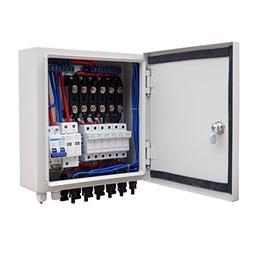 ECO LLC 6 String PV Combiner Box 10A Breaker for Solar Panel