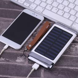 6000mah Creative Solar Charger Power Bank External Battery F
