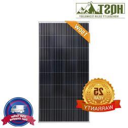 HQST 150W 600W 500W 300W Watt Poly Solar Panel 12V 24V PV Po