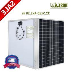 HQST 100W Watt Solar Panel 12V Mono 600W 500W 400W 300W 200W