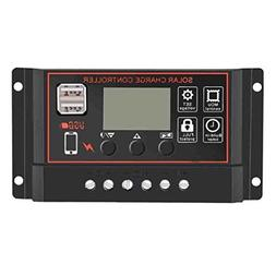 Fiaya 60A 50A 40A 30A 20A 10A Intelligent Solar Panel Contro