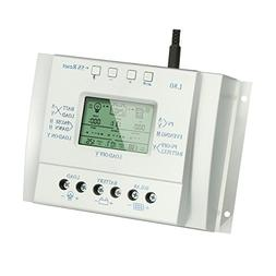 80A Solar Charge Controller, Y-SOLAR Solar Panel Regulator w