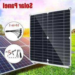 60W Solar Panel 60 Watt Module Monocrystalline 18V Camping R