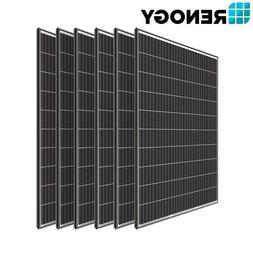 6PCS Renogy 320W 300W 24V Mono Solar Panel 2000W 1800W PV Po