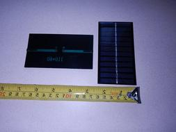 6V x 140 ma. Mini solar panel epoxy encapsulated virtually i