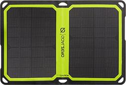 Goal Zero - Nomad 7 Plus Solar Panel - Black with Green Acce