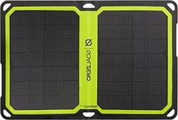 Goal Zero - Nomad 7 Plus Solar Panel - Black with Green Acce