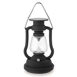 Solar Lantern 7 LED Solar Powered Hand-cranked Hanging Solar