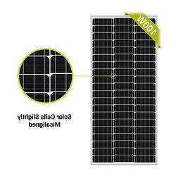 Newpowa 100W Watt 12V Mono Solar Panel New Condition A-Grade