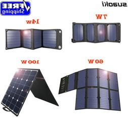 7W 14W 60W 100W Solar Panel Charger USB Sunpower Semi Flexib
