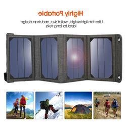Suaoki 7W 14W 60W 100W Solar Charger Portable SunPower Solar