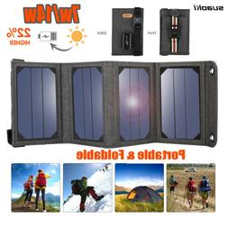 7W 14W Suaoki Foldable Solar Panel Battery Charger Portable