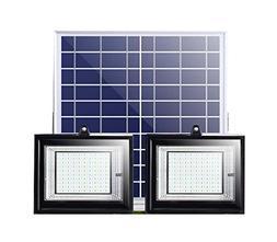 80/100 LED Solar Lights, Smart Remote Control Solar Street L