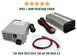 800 Watt 110/120V Battery Backup/UPS System - Get prepared t