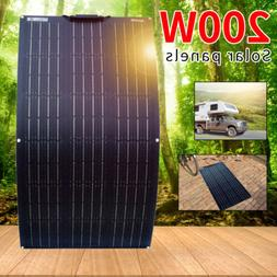800W flexible Solar Panel Kit for Boat Home Car RV Roof 12V