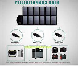 Allpowers 12V 80W Foldable Solar Panel Portable Battery Char