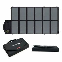 ALLPOWERS 80W Foldable Solar Panel SunPower Solar Charger wi