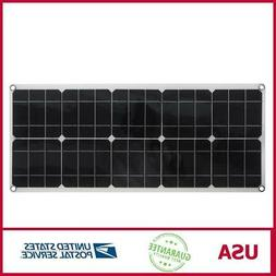 80W High-Efficiency Solar Panel Portable Single-Crystal Powe