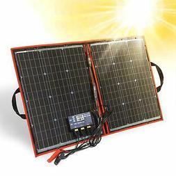 DOKIO 80W Solar Panel Kit 12V / 18V Foldable Mono Solar Pane